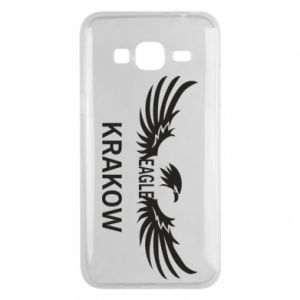 Etui na Samsung J3 2016 Krakow eagle black or white