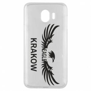 Etui na Samsung J4 Krakow eagle black or white