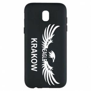 Etui na Samsung J5 2017 Krakow eagle black or white
