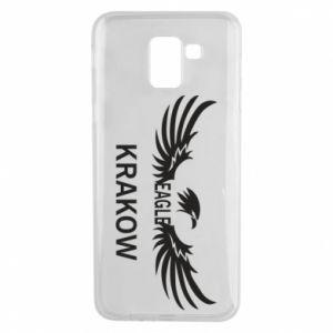 Etui na Samsung J6 Krakow eagle black or white
