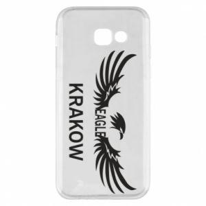 Etui na Samsung A5 2017 Krakow eagle black or white