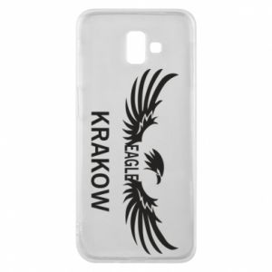 Etui na Samsung J6 Plus 2018 Krakow eagle black or white
