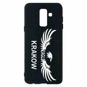 Etui na Samsung A6+ 2018 Krakow eagle black or white