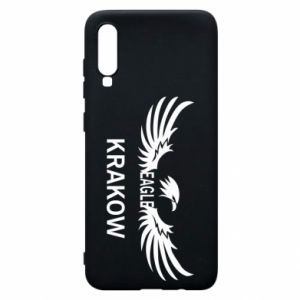 Etui na Samsung A70 Krakow eagle black or white