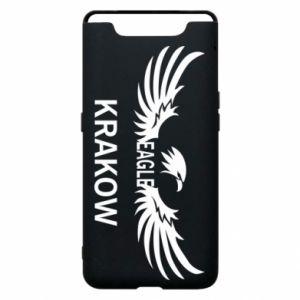 Etui na Samsung A80 Krakow eagle black or white