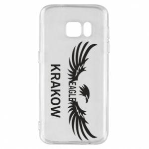 Etui na Samsung S7 Krakow eagle black or white