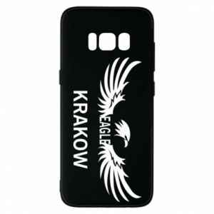 Etui na Samsung S8 Krakow eagle black or white