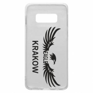 Etui na Samsung S10e Krakow eagle black or white