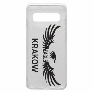 Etui na Samsung S10 Krakow eagle black or white