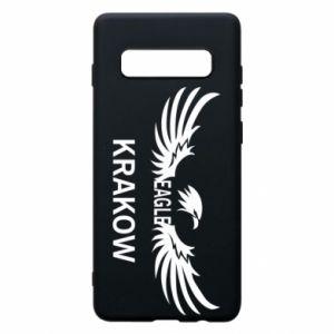 Etui na Samsung S10+ Krakow eagle black or white