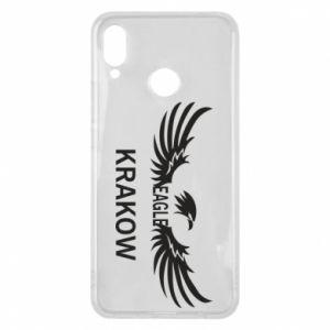Etui na Huawei P Smart Plus Krakow eagle black or white