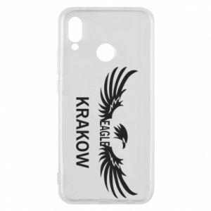 Etui na Huawei P20 Lite Krakow eagle black or white