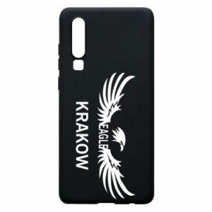 Etui na Huawei P30 Krakow eagle black or white