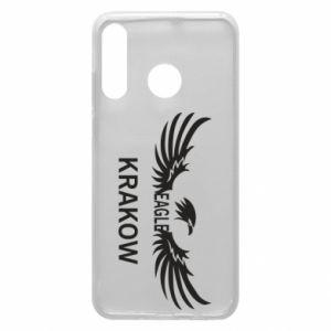 Etui na Huawei P30 Lite Krakow eagle black or white