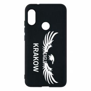 Etui na Mi A2 Lite Krakow eagle black or white