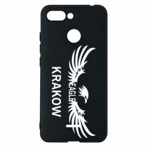 Etui na Xiaomi Redmi 6 Krakow eagle black or white
