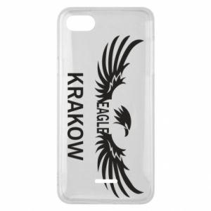 Etui na Xiaomi Redmi 6A Krakow eagle black or white