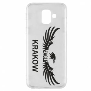 Etui na Samsung A6 2018 Krakow eagle black or white