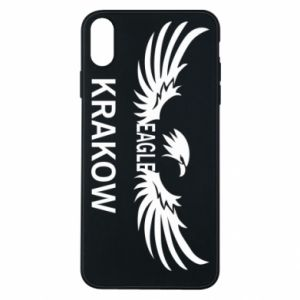 Etui na iPhone Xs Max Krakow eagle black or white
