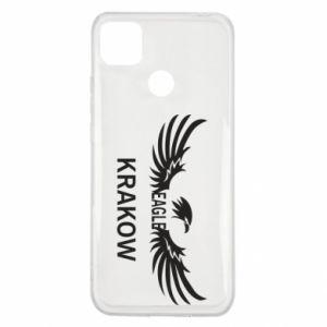 Etui na Xiaomi Redmi 9c Krakow eagle black or white