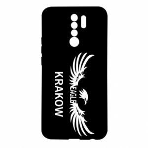 Xiaomi Redmi 9 Case Krakow eagle black or white