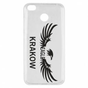 Xiaomi Redmi 4X Case Krakow eagle black or white
