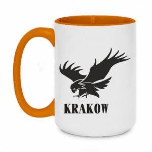 Kubek dwukolorowy 450ml Krakow eagle