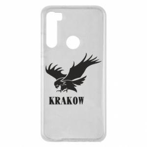 Etui na Xiaomi Redmi Note 8 Krakow eagle