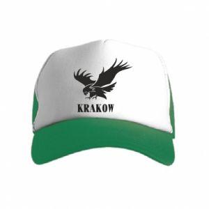 Czapka trucker dziecięca Krakow eagle