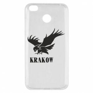 Etui na Xiaomi Redmi 4X Krakow eagle