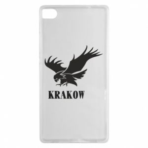 Etui na Huawei P8 Krakow eagle