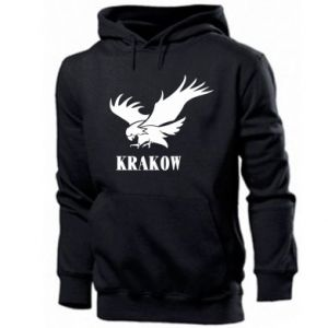 Men's hoodie Krakow eagle