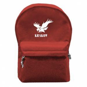 Plecak z przednią kieszenią Krakow eagle