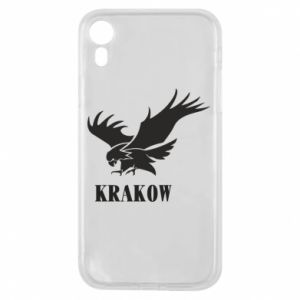 Etui na iPhone XR Krakow eagle