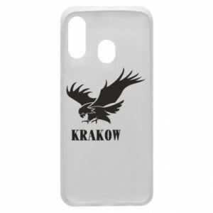 Etui na Samsung A40 Krakow eagle