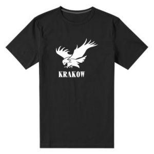 Men's premium t-shirt Krakow eagle