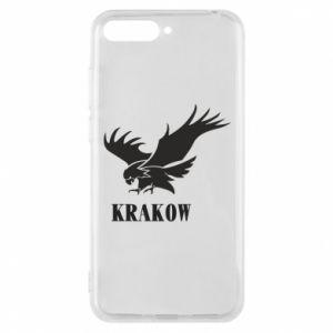 Etui na Huawei Y6 2018 Krakow eagle