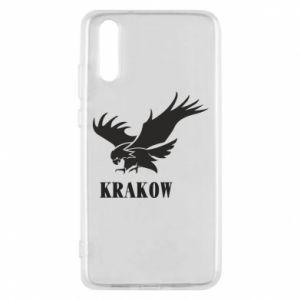 Etui na Huawei P20 Krakow eagle