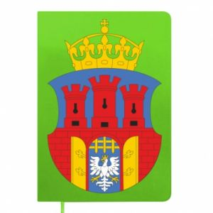 Notepad Krakow coat of arms