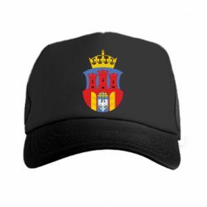 Trucker hat Krakow coat of arms