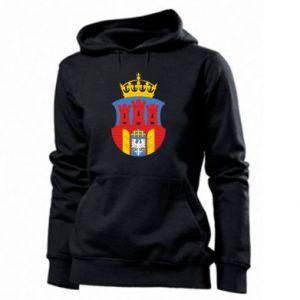 Women's hoodies Krakow coat of arms
