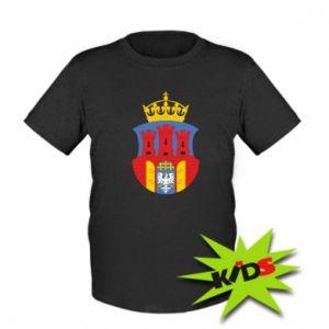 Kids T-shirt Krakow coat of arms