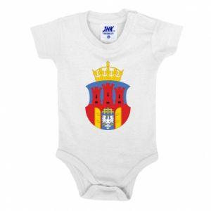 Baby bodysuit Krakow coat of arms