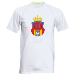 Men's sports t-shirt Krakow coat of arms