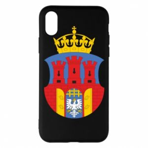 Phone case for iPhone X/Xs Krakow coat of arms