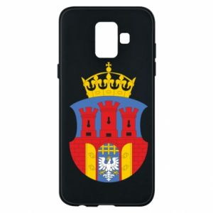 Phone case for Samsung A6 2018 Krakow coat of arms