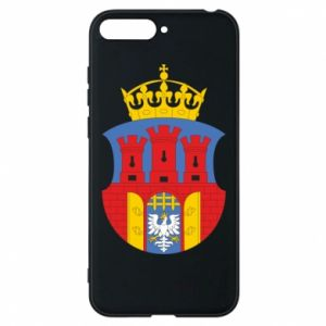 Phone case for Huawei Y6 2018 Krakow coat of arms