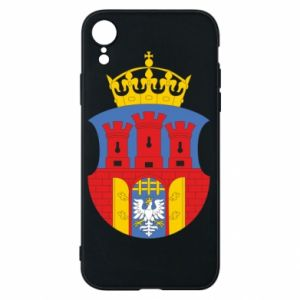 Phone case for iPhone XR Krakow coat of arms