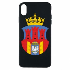 Phone case for iPhone Xs Max Krakow coat of arms