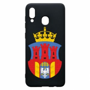 Phone case for Samsung A20 Krakow coat of arms